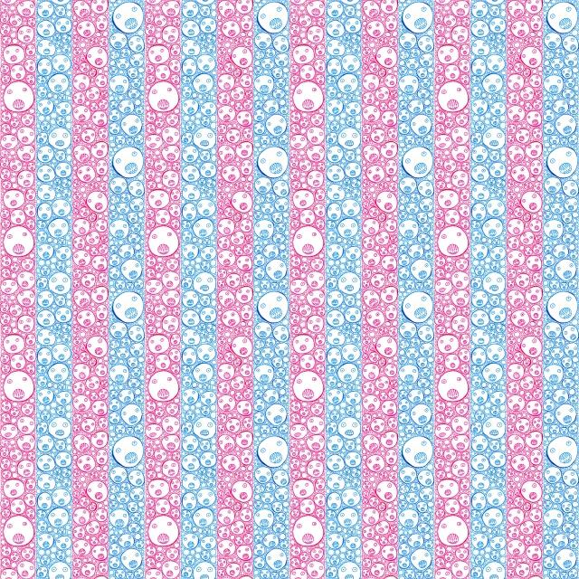 Faces_Stripes wallpaper3